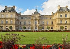 Luxembourg Palace, Paris. Royalty Free Stock Photos