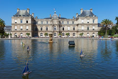 Luxembourg palace in Paris. Royalty Free Stock Image