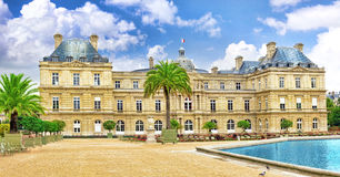 Luxembourg Palase Royalty Free Stock Photography