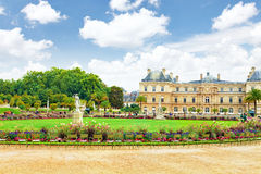 Luxembourg Palase. In Paris, France royalty free stock photo