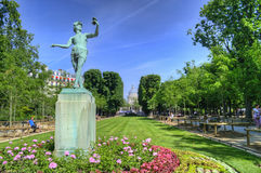 Luxembourg park in Paris, France. stock photos