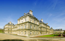 Luxembourg park in Paris. In the summer Royalty Free Stock Image