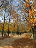 luxembourg parkerar Royaltyfria Foton