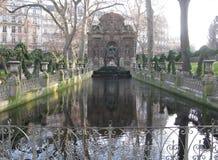 luxembourg parkerar Fotografering för Bildbyråer