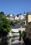 Luxembourg and River Stock Photos