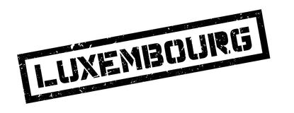Luxembourg rubber stamp Royalty Free Stock Photo
