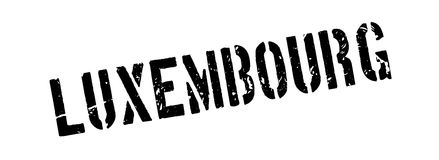 Luxembourg rubber stamp Stock Photography