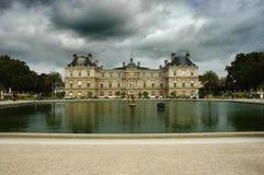 Luxembourg slott arkivbild