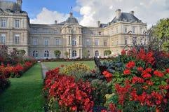 luxembourg slott paris Royaltyfri Foto