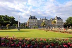 Luxembourg slott, Paris Royaltyfri Fotografi