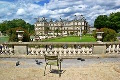 luxembourg slott paris Royaltyfri Bild