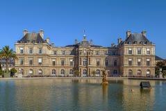 luxembourg slott paris Royaltyfri Fotografi
