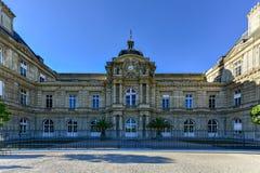 Luxembourg slott - Paris, Frankrike royaltyfria bilder