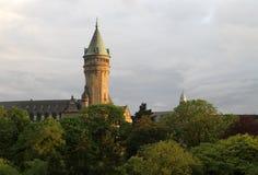 Luxembourg Spuerkees royaltyfri bild