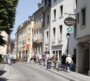 Luxembourg stad. arkivbild
