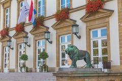 Luxembourg stadshus arkivbilder