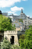 Luxembourg in summer Royalty Free Stock Image