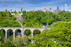 Luxembourg in summer Royalty Free Stock Photography