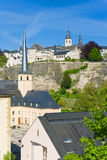 Luxembourg in a sunny day Stock Image