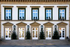 Luxembourg Town Hall Stock Photography