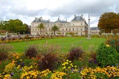 Luxembourg trädgårdar Arkivfoton