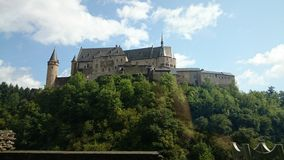 Luxembourg Vianden Royaltyfri Bild