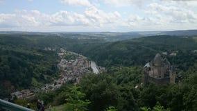 Luxembourg Vianden Royaltyfria Foton