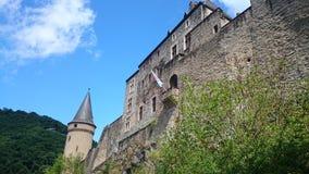 Luxembourg Vianden Arkivbild