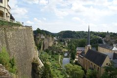 Luxembourg view Stock Photo