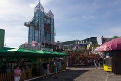 LUXEMBURG, LUXEMBURG - 30. AUGUST 2015 - Schueberfouer - das L stockfotografie