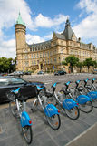 Luxemburg-Bank Lizenzfreies Stockbild
