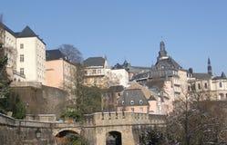 Luxemburg - Corniche Lizenzfreies Stockbild