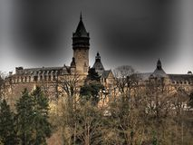 Luxemburg - the Grand Duchy of Luxembourg, is a small landlocked country in western Europe. Luxembourg is a constitutional monarchy, head of state is Grand Duke royalty free stock images