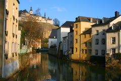 Luxemburg-Grund Royalty-vrije Stock Afbeelding