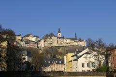 Luxemburg-Hintergrund Lizenzfreies Stockbild
