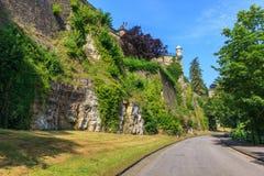 Luxemburg-Katakomben Stockbild
