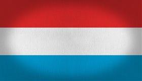 Luxemburg kennzeichnen w/clip Pfad Lizenzfreies Stockbild