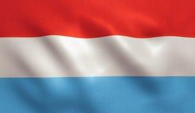 Luxemburg kennzeichnen w/clip Pfad Lizenzfreie Stockfotografie