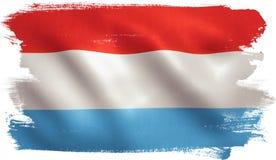 Luxemburg kennzeichnen w/clip Pfad Stockbild