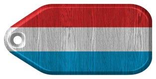 Luxemburg kennzeichnen w/clip Pfad Stockfoto