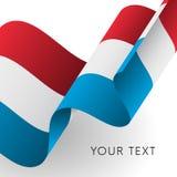 Luxemburg kennzeichnen w/clip Pfad Patriotisches Design Auch im corel abgehobenen Betrag Stockfotos
