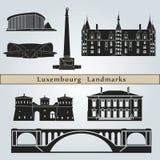 Luxemburg Landmarks Stock Image