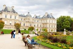 Luxemburg ogród, Paryż Obraz Royalty Free