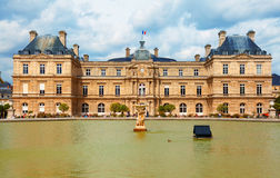 Luxemburg ogród, Paryż Obrazy Royalty Free