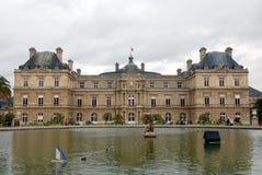 Luxemburg Palace Stock Images
