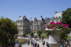 Luxemburg palace in Paris Royalty Free Stock Photo