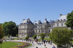 Luxemburg palace in Paris Stock Image