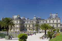 Luxemburg palace in Paris royalty free stock images