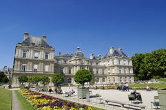 Luxemburg palace in Paris Stock Photography