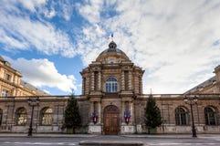 Luxemburg-Palast, Paris, Frankreich Stockfotografie